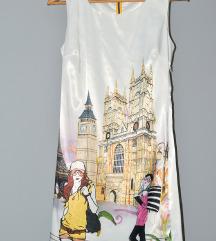 Bela letnja haljina snižena