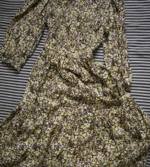 rezz Zuta floralna CLP haljina, vel. S