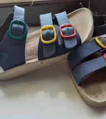Anatomske sandale kozne 31/32  ug 20cm