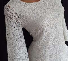 H&M DIVIDED ✿ končana bela haljina