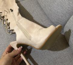 Nove sandale čizme bež