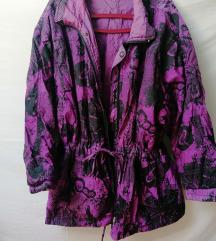 Retro oversize jakna sa dva lica L/XL