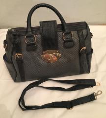 Crni siva torba