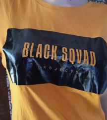 Black sqvad majica