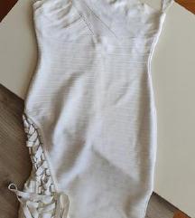 Herve Leger model haljina na jedno rame