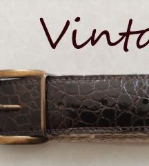 Vintage kais kombinacija koza platno