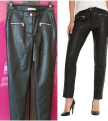 Betty Barcley kozne pantalone M