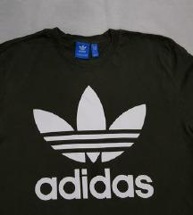Adidas original maslinasto zelena muska majica