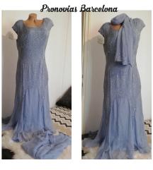 Prelepa haljina svila Barcelona