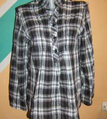 Karo pamučna košulja bluza Yessica C&A