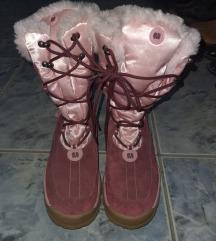 Zenske cizme br.40 prevrnuta koza