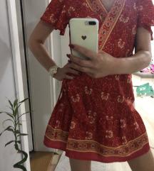 Sarena letnja haljina, snizena