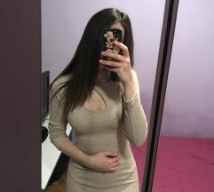 Bež haljina