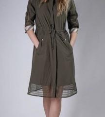 Burberry maslinasta haljina mantil