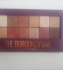 MAYBELLINE the burgundy bar paleta (nekorišćeno)