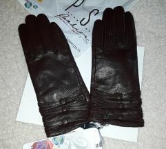 P...S...rukavice 50%prirodnakožaNOVEsa etiketom
