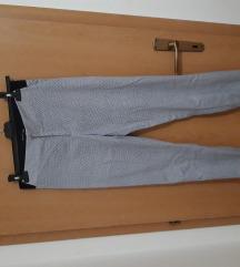 Plavo bele letnje pantalone