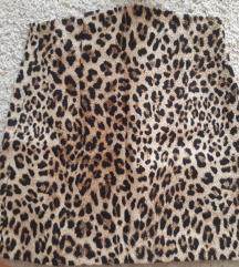 ZARA leopard print suknjica- snizena 1500 dinara