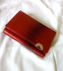Crveni novčanik NOV