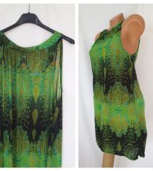 THAILAND ❦ zelena lelujava haljina sa trakama