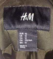 Zenska maslinasto/crna jakna
