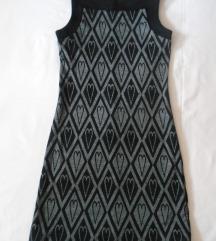 Nova sivo crna haljinica za svaki dan