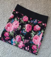 Cvetna mini suknjica 🦚🌸💐😻