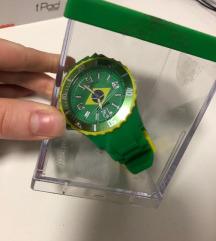Time2u vodootporni muski sat zeleni