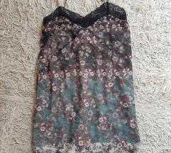 Pull&Bear cvetasta slip haljina