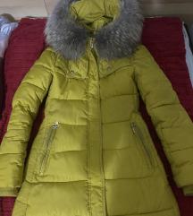 Zimska jakna sa pravim krznom SNIZENO