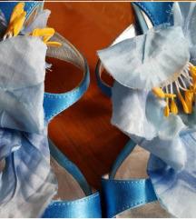 RezCasadei plave sandale, original