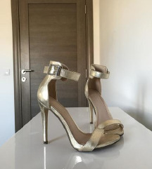 Zlatne sandale 36