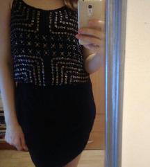 H&M crna haljinica kao nova S/M