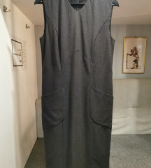 SNIŽENJE! Karl Lagerfeld siva haljina