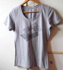 LOTTO siva pamučna majica s/m