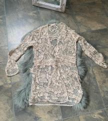 Zara trf pleteni ogrtač