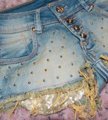Ultra kratak teksas šorts