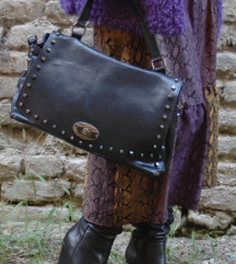 AKCIJA! Kožna torba, Italy