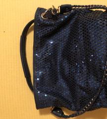 Teget svetlucava torba