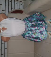 H&M suknja i majica vel.m/L