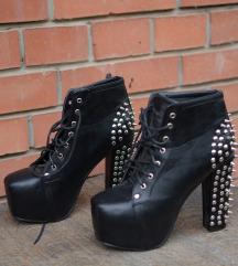 Cipele na štiklu sa nitnama SNIŽENO NA 590