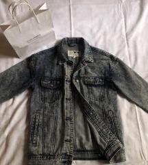 Duža oversized denim jakna, NOVO