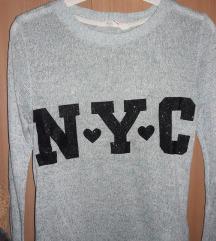 Tirkizni džemper