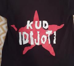 Kud Idijoti punk majica S vel.