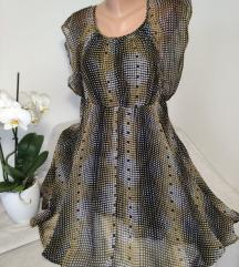 Postavljena leprsava haljina vel XS/S