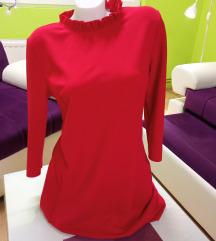 Jarko crvena Orsay haljina