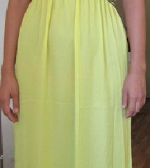Žuta haljina NOVO