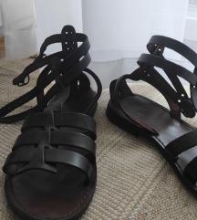 Kožne sandale - rimljanke (Italija)
