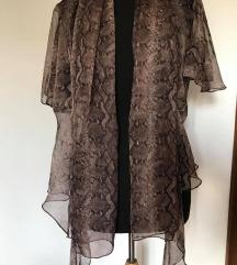 Providna košulja/ogrtač sa zmijskim printom