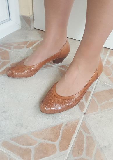 OSWALD Austria kozne pletene cipele potpuno nove